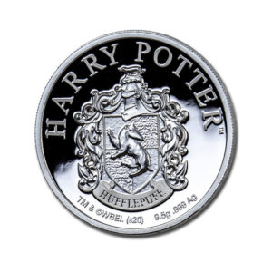 2020 Gibraltar Silver Harry Potter School Crests: Hufflepuff