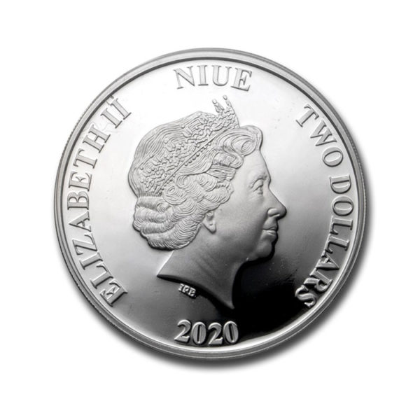 2020 Niue 1 oz Proof Silver: Harry Potter