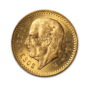 10 Pesos Or - Miguel Hidalgo