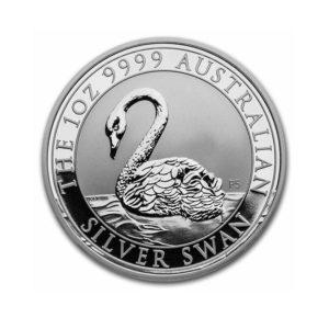 2021 Australia 1 oz Silver Swan BU