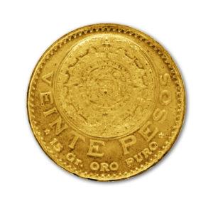 20 Pesos mexicain