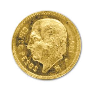 5 Pesos mexicain