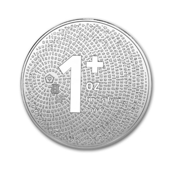 2021 Swiss Silver Once 1 OZ