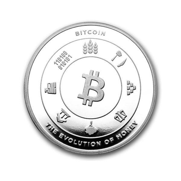 1 oz Silver Round - Bitcoin Round (BitPay)